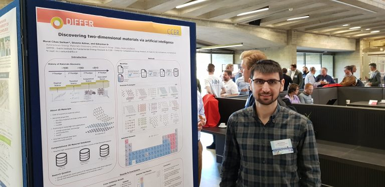 Murat presenting at AI@TUE symposium